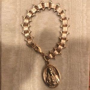 Jewelry - Religious Medal charm bracelet!